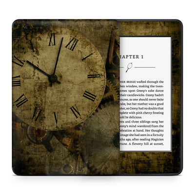 Time Piece Watch Clockwork Vinyl Skin Sticker Wrap to Cover & Protect Kindle