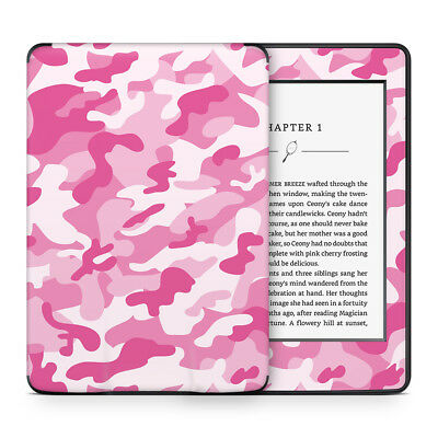 Pink Angel Camo Printed Vinyl Skin Sticker Wrap to Cover & Personalise Kindle
