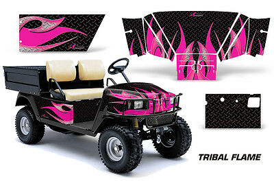 Golf Cart Graphics Kit Decal Sticker Wrap For E-Z-Go Workhorse 96-03 TRIBAL P K