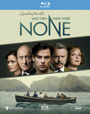 And Then There Were None (2015) (Agatha Christie's) (2 Disc) BLU-RAY NEW