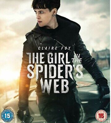 The Girl In The Spider's Web 2018 Blu-ray Region B/2 SINGLE DISC ONLY !!