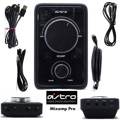 Astro A40 Gaming MixAmp Pro With All Cables for Ps3 Ps4 Xbox ONE Xbox 360