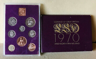 1970 Brilliant Uncirculated set of United Kingdom coins