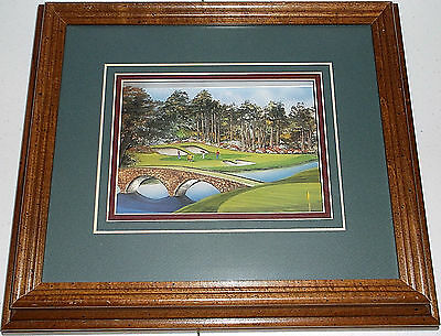 Augusta National Golf Club Masters Tournament 3D Layered Paper Framed Wall Art