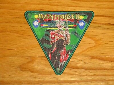 IRON MAIDEN  Somewhere In Time PATCH LIMITED 60 ONLY