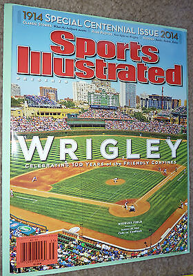 NOV 21 2013 Sports Illustrated 100 Years WRIGLEY Chicago MINT No Label CUBS SI !