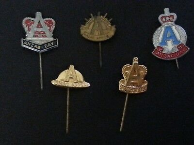 Vintage ANZAC Day Pins