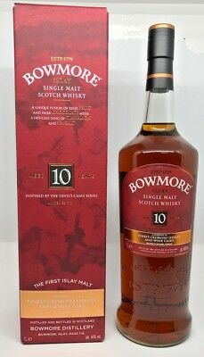 BOWMORE INSPIRED BY THE DEVIL'S CASKS SERIES 1 L 46.0° Travel Retail Exclusive