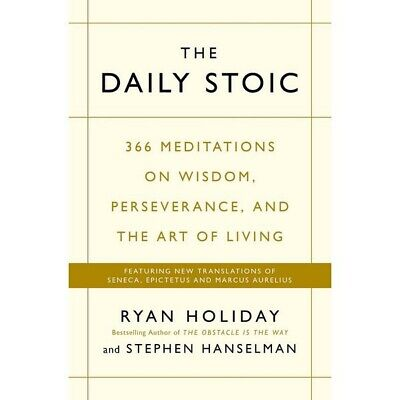 Livre Neuf - Daily Stoic : 366 Meditations on Wisdom, Perseverance, and the Art