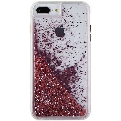 329c0d2d9 Case-Mate Waterfall Liquid Glitter Case for iPhone 8 Plus and 7 Plus - Rose