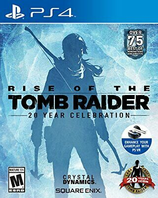 Rise of the Tomb Raider: 20 Year Celebration - Sony PlayStation 4 (Brand New)