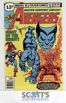 AVENGERS  #178  FN  (copy 2)  (BAGGED & BOARDED)