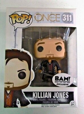 Funko Pop Once Upon A Time Killian Jones Bam Exclusive
