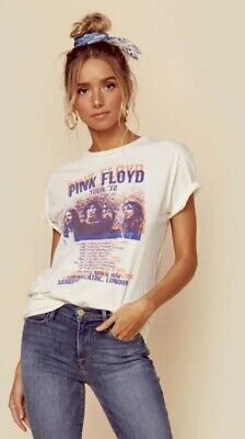 NWT THE ORIGINAL RETRO BRAND Pink Floyd Rainbow Theatre Tee SIZE SMALL