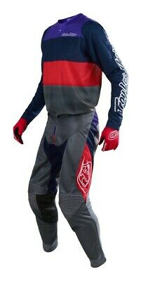 New 2019 Adult Troy Lee TLD SPRING SE AIR JERSEY BETA Navy/Gre Jersey Pants Kit