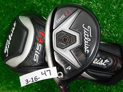 Titleist 915H 24* Left Hand 4 Hybrid Diamana S+ 70 Stiff Graphite with HC 40.5""