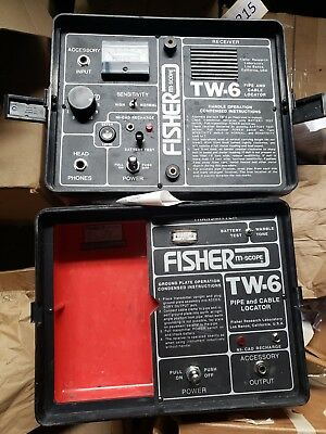 Fisher Two Box TW-6 Professional Pipe & Cable Split Box Locator