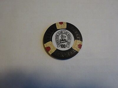 Horseshoe Club $100 Las Vegas Casino Chip