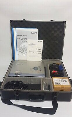 SONY PLC-XU48 Multimedia Projector In Hard Case Home Cinema Etc