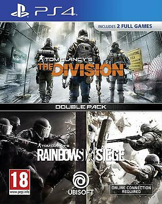 Tom Clancy's The Division + Rainbow Six Siege Double Pack - PlayStation 4 [Edizi