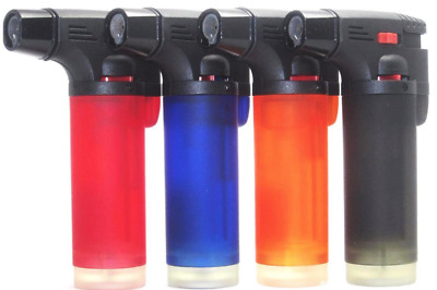 1 Pack Eagle Butane Torch Lighter Gun Windproof Adjustable Jet Flame Refillable