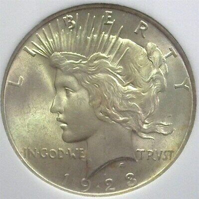 1923 Peace Silver Dollar Gem+ Uncirculated