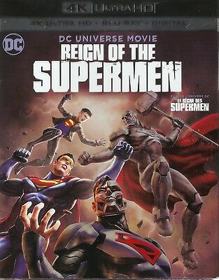 REIGN OF THE SUPERMEN 4K ULTRA HD & BLURAY & DIGITAL SET with Jerry O'Connell