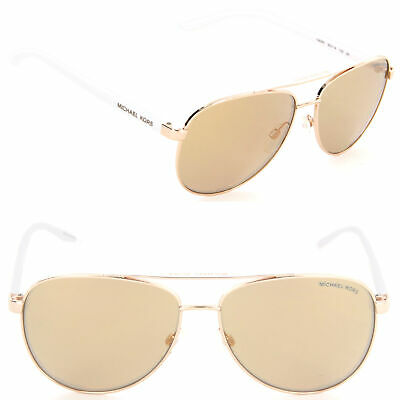 b55c6f11ad057 Michael Kors HVAR MK5007 1080 R1 59mm Sunglasses Rose Gold   Rose Gold Flash