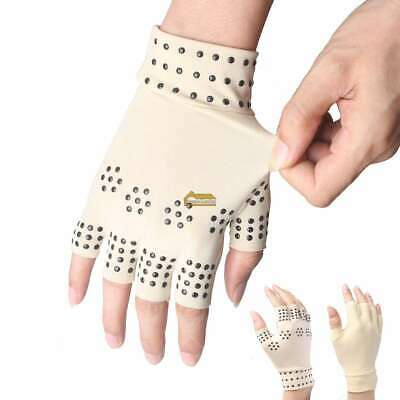 Magnetic Anti Arthritis Health Compression Therapy Gloves Rheumatoid Hand Pain