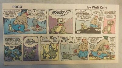 Pogo Sunday by Walt Kelly from 3/16/1958 Third Page Size!