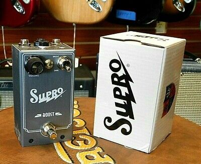 2019 Supro Boost Pedal w / Original Box! Model 1303! BRAND NEW! BLOW OUT SALE!!!