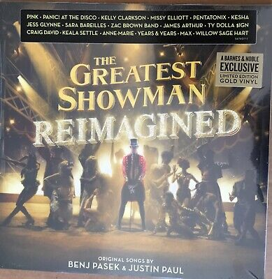 The Greatest Showman: Reimagined Lp GOLD vinyl