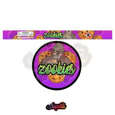Zookies / Cali Tuna Tin / Pressitin Can Strain Labels