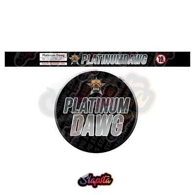 Platinum Dawg / Cali Tuna Tin / Pressitin Can Strain Labels