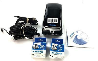 Dymo Labelwriter 450 Turbo w/ Software/Power/USB Connector and Labels #28162