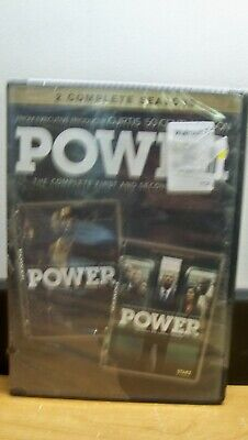 New No Seal Power Complete First & Second Season 1 & 2  Dvd  Free 1St Cls  S&H