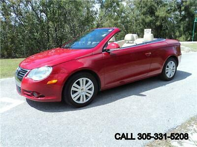 2008 Eos Turbo Convertible Carfax certified No dealer fees 2008 Volkswagen Eos Turbo Convertible Carfax certified No dealer fees