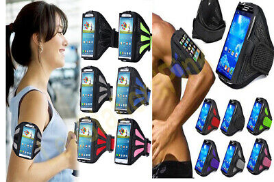 Sports Arm Band Mobile Phone Holder Bag Running Jogging Armband Exercise Sport