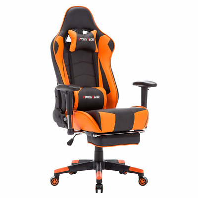 Storm Racer Ergonomic Gaming Chair High back Swivel Computer Office Chair with