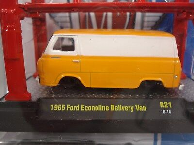M2 Machines 1965 Ford Econoline Delivery Van Model Kit with lift 1 of 5880
