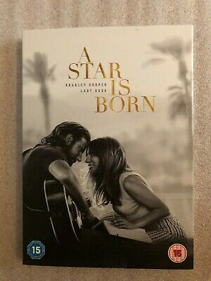 A Star Is Born Dvd + Digital Download. Brand New With Cardboard Sleeve