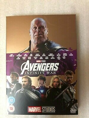 Avengers Infinity War Dvd. With Cardboard Sleeve. Brand New Still Sealed
