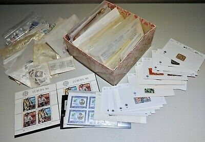 Stamp Pickers Worldwide Box Lot Estate Collection Thousands MH VFU $500+