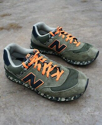 57e7e4b558069 New Balance 574 Camo Green Shoes Sneakers Mens Size 11.5 Trainers Casual  Suede