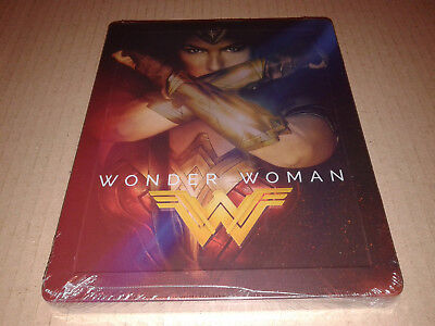 Wonder Woman 3D+2D Blu-ray Steelbook - FilmArena