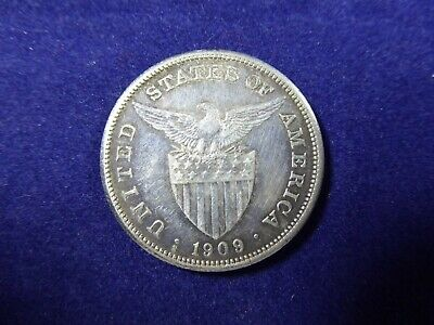 1909 United States 1 Peso silver coin, Phillipines