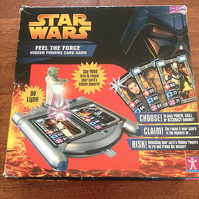 Star Wars Feel The Force Hidden Powers Card Game 2005