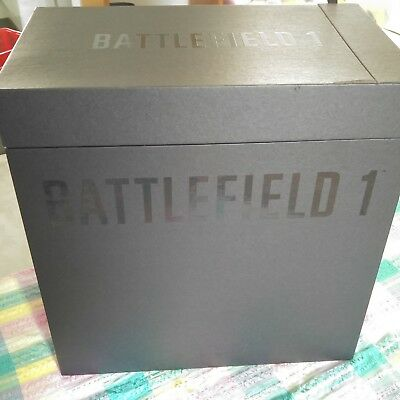Battlefield 1 PS4 Game & Collector's Edition Statue Plus Frontline Pack 2016