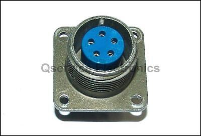 Amphenol MS3102A 14S-5S Military 5 Pin Female Circular Chassis Connector