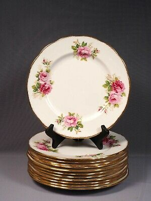 Royal Albert American Beauty Large Dinner Plate Bone China England